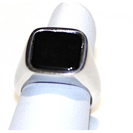 Anello ossidiana adatto al dito mignolo