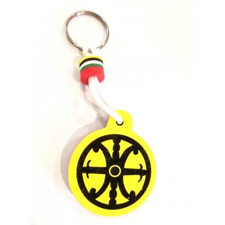 Portachiavi galleggiante con il Simbolo di Lipari
