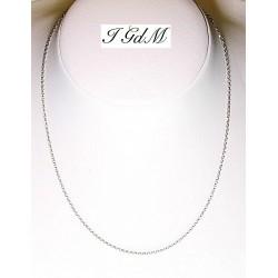Collana in argento 925/°°°rodiato