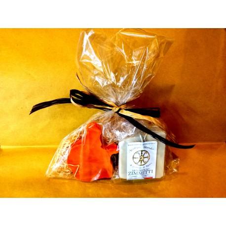Confezione regalo con saponi