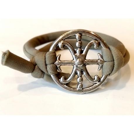 Bracciale Simbolo di Lipari in metallo
