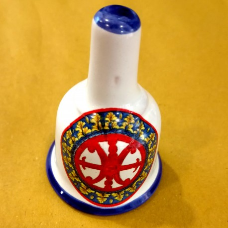 Campanella Simbolo di Lipari stemma rosso