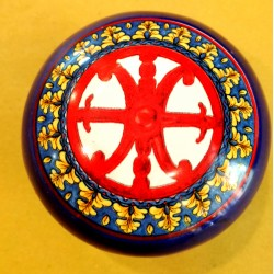 Cofanetto simbolo di Lipari rosso