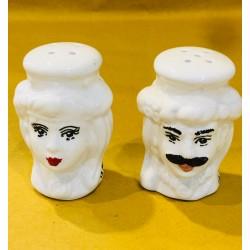 Teste di moro sale e pepe