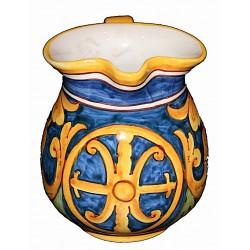 Brocca blu simbolo di Lipari h.13