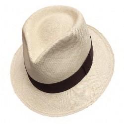 Cappello Panama originale modello Adrien naturale
