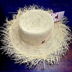 Cappello Panama originale modello Chrochet Beach Tolita