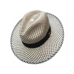 Cappello Panama originale modello Coral Blue