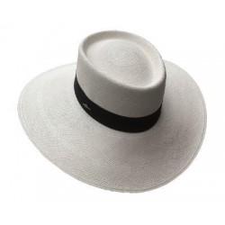 Cappello Panama originale modello Dumont tesa larga