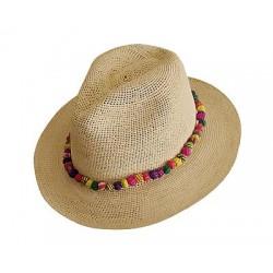 Cappello Panama originale Modello Crohet Classic Bora Bora