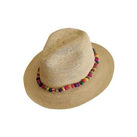 donna vendita calda online promozione speciale Cappello Panama originale Modello Crohet Classic Bora Bora - aeolian islands