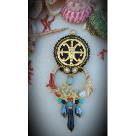 Collana con il Simbolo di Lipari dorato
