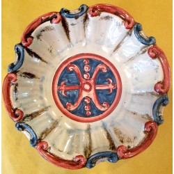 Ciotola Barocca Simbolo di Lipari d. 15