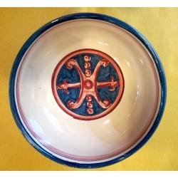 Ciotola Simbolo di Lipari d. 13 cm