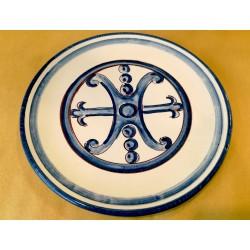 Piatto Simbolo di Lipari d. 20 cm