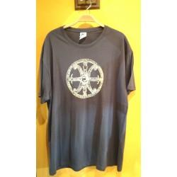 Maglietta simbolo di Lipari grigia
