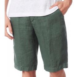 Bermuda uomo lino verde ZEYBRA