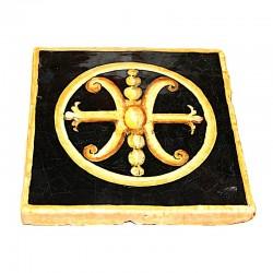Piastrella simbolo di Lipari 15x15