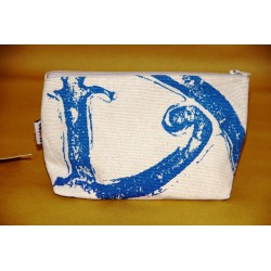 Pochette in lino con il simbolo di Lipari - media