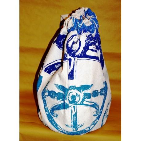 Sacca in cotone con il Simbolo di Lipari.