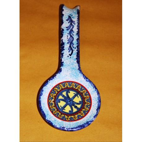 Poggiamestolo simbolo di Lipari blu