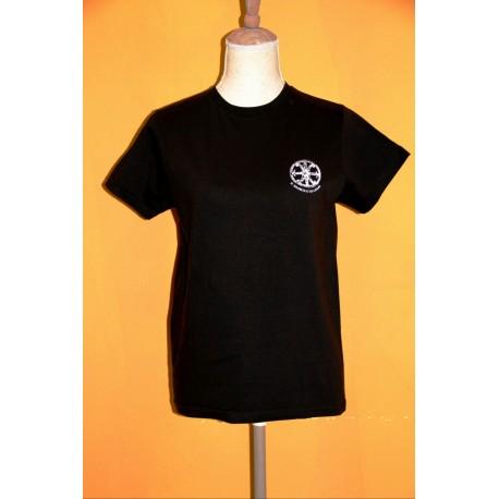 Maglietta con il Simbolo di Lipari tramonto