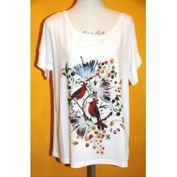 T-shirt Fiore del Cappero