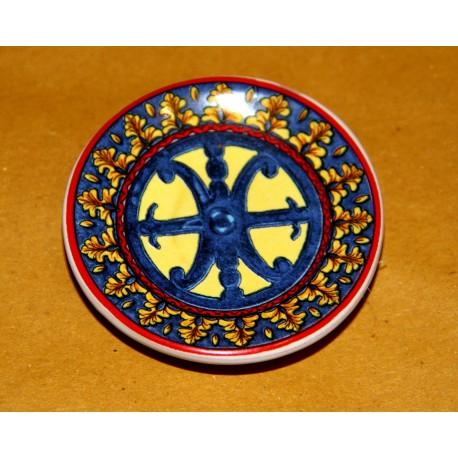 Piattino con magnete e Simbolo di Lipari